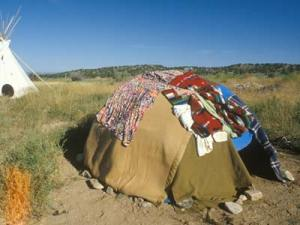 Sweat Lodge Similar To The One We Used